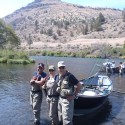 Fun fishing on the Lower Deschutes during Early Caddis Hatch