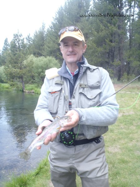 Upper deschutes river fly fishing guides fly fishing for Wickiup reservoir fishing